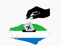 Sierra Leone election Royalty Free Stock Photo