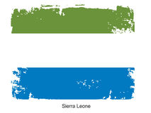 Sierra Leone Flag Stock Photo