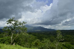 Sierra madre de Chiapas Fotografia Stock