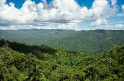 Sierra Maestra pasmo górskie w Cuba Fotografia Stock