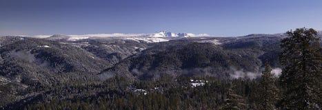 Sierra montañas de Nevada Fotografía de archivo libre de regalías