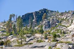 Sierra montañas de Nevada escénicas foto de archivo libre de regalías