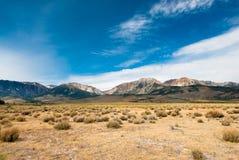 Sierra montagne Fotografie Stock