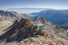 Sierra Mountain Vista Stock Images