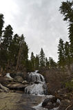 Sierra Mountain Waterfall Stock Images