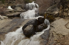 Sierra Mountain Waterfall Stock Photography