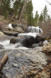 Sierra Mountain Waterfall Stock Photos