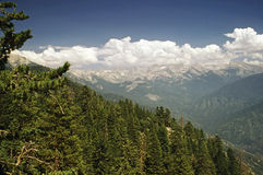 Sierra Mountains Royalty Free Stock Photography