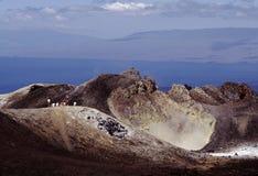 Sierra Negra, île d'Isabela Photos libres de droits