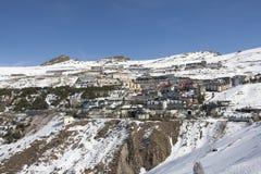 Sierra Nevada. Ski resort Sierra Nevada in southern Spain, in Granada Royalty Free Stock Photography