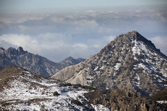Sierra Nevada Lizenzfreies Stockfoto