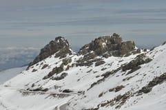 Sierra Nevada berg i sydliga Spanien Arkivfoton