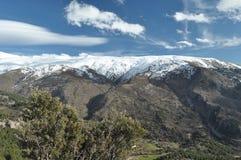 Sierra Nevada berg i sydliga Spanien Royaltyfri Bild
