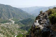 Sierra Nevada-Gebirgszug Lizenzfreies Stockfoto