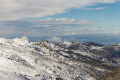 Sierra Nevada, Granada, Hiszpania Obraz Royalty Free