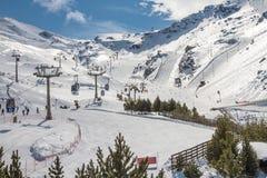 Sierra Nevada Granada, Spanien Arkivfoton