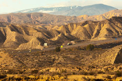 Sierra Nevada Hiszpania Zdjęcie Stock