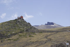 The Sierra Nevada hosts the highest peaks of inland Spain. Royalty Free Stock Photo