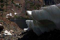 Sierra Nevada Ice Shelf Melt stock photo