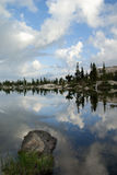 Sierra Nevada Lake Reflection Royalty Free Stock Images