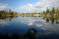 Sierra Nevada Lake Reflection Royalty Free Stock Image