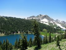 Sierra Nevada Lakes Stock Photography