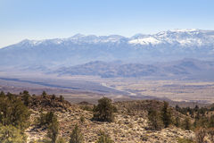 The Sierra Nevada Landsacpe. A view of the Sierra Nevada landscape in California Stock Photography