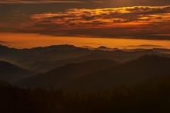 Sierra Nevada meridional fotografía de archivo