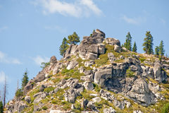 Sierra Nevada mounains scenic Stock Photo