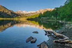 Sierra Nevada Mountain Lake Fotografia Stock
