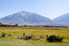 Sierra Nevada mountain range. In California Royalty Free Stock Photo