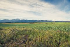 Sierra nevada mountain range spain Stock Photo