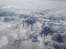 Sierra Nevada Mountain Ranges fotografia stock libera da diritti