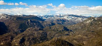 Sierra Nevada Mountains Stock Image