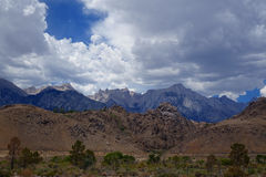 Sierra Nevada Mountains - eastern California Royalty Free Stock Photo