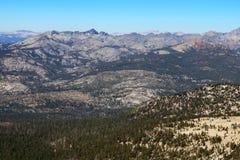 Sierra Nevada mountains and foothills near Mono Lake, California stock image