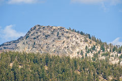 Sierra Nevada mountains scenic Royalty Free Stock Photo