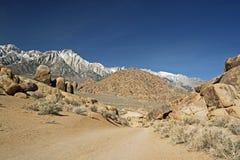 Sierra Nevada Mountains Royalty Free Stock Image