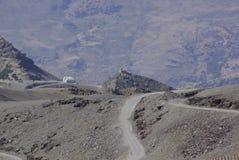 Sierra Nevada ospita gli più alti picchi della Spagna interna Fotografia Stock Libera da Diritti