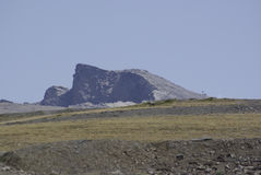 Sierra Nevada ospita gli più alti picchi della Spagna interna Immagini Stock