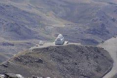 Sierra Nevada ospita gli più alti picchi della Spagna interna Immagini Stock Libere da Diritti