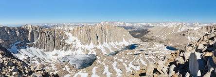 Sierra Nevada Panorama Royalty Free Stock Photography