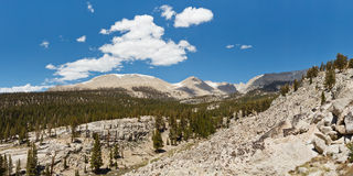 Sierra Nevada Panorama Stock Image