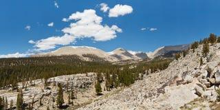 Sierra Nevada Panorama Stock Image