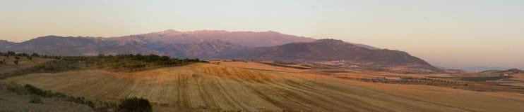 Sierra Nevada panoramico Fotografia Stock