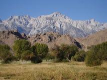 Sierra Nevada pasmo Califiornia Zdjęcia Royalty Free