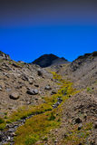 Sierra Nevada Peak in Fall. View of a peak in the Sierra Nevada mountains Royalty Free Stock Photos
