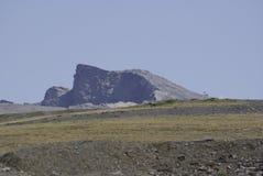 Sierra Nevada recibe los picos más altos de España interior imagenes de archivo