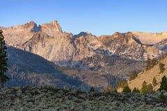 Sierra Nevada Sawtooth Ridge imágenes de archivo libres de regalías