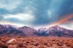 Sierra Nevada. Mountains royalty free stock photos